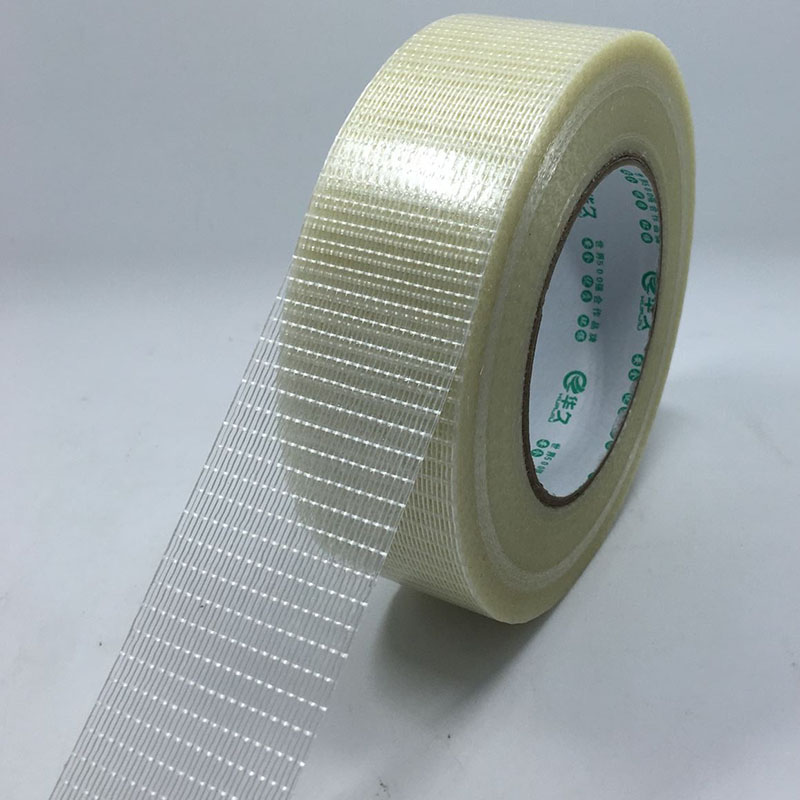 1pcs Grid Fiberglass Adhesive Tape Stripe Strength High-Viscose 25M Belt Width 10/15/20/25/30/35/40/45/50/60/80/100mm Toy Module