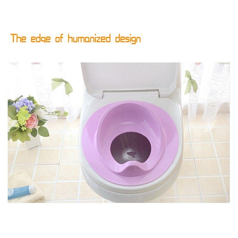 YAS Children Plastic Toilet Potties Baby Potty Safe Seat for Grils Boy Trainers Comfortable Portable Toilet Ring Infant Potty