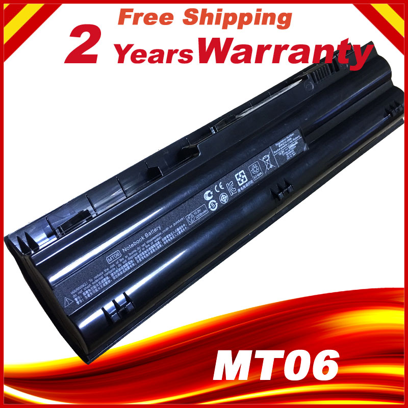 Ordinateur portable batterie MT06 MTO3 MTO6 HSTNN-DB3B HSTNN-LB3B Pour HP Mini 210-3000 2103 2104 1104 3115 m série
