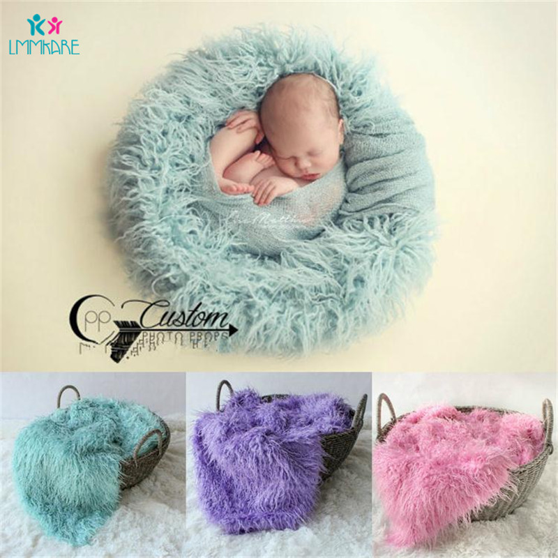 Wool Newborns Baby Blanket Soft Comfortable Solid Color Baby Photography Props Baby Infant Photo Receiving Blankets Swaddle Warp