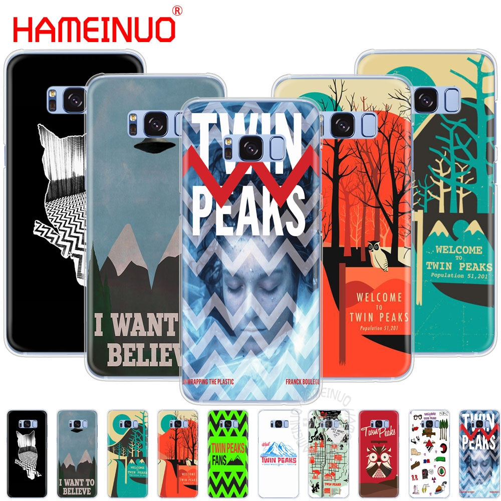 HAMEINUO welocme to the twin peaks cell phone case cover for Samsung Galaxy S9 S7 edge PLUS S8 S6 S5 S4 S3 MINI