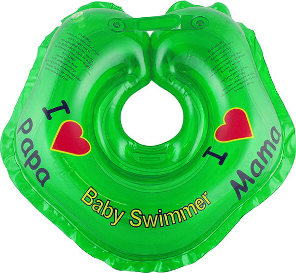 Children's neck swimming ring Baby Swimmer BS21G inflatable children swimming ring seat pool floating boat