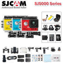 Original SJCAM SJ5000X Elite Gyro Action helmet Camera WiFi 4K 30fps Waterproof NTK96660 &SJ CAM SJ5000 & SJ 5000WI FI Sports DV