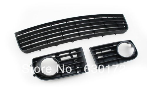 Replacement Front Lower Cooling Air Grille Full Set For Vw