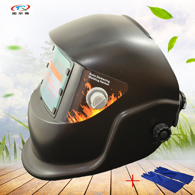 Auto Darkening Welding Helmet Best Price Welding Mask With Gloves