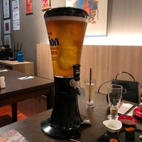 Black 3L Cold Draft Beer Tower Dispenser Plastic with Big Ice Tube