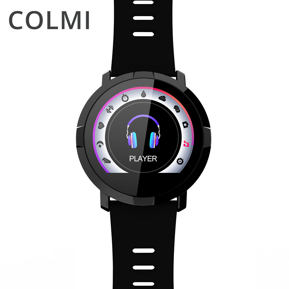 COLMI Smart Watch 1 22 inch IPS Round Screen Support Heart Rate Monitor Pedometer SmartWatch For
