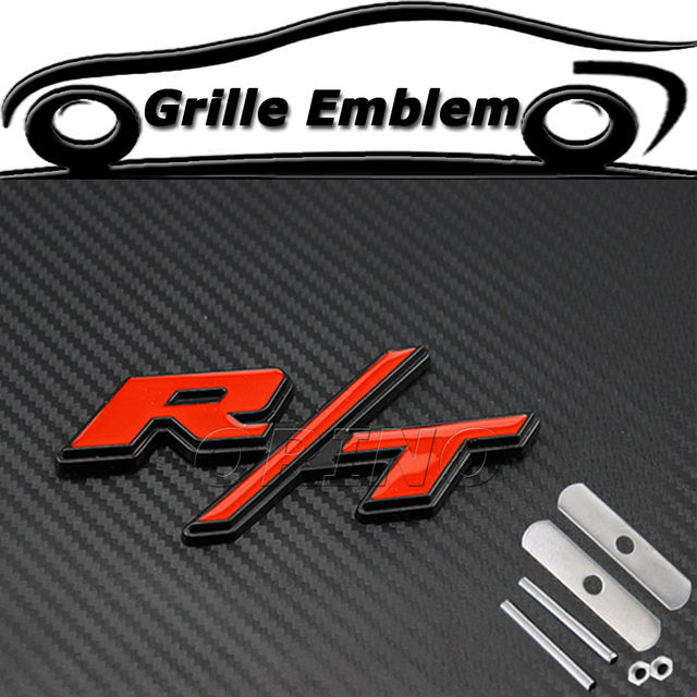 Car styling metal rt rt car front grille emblem badge for dodge car styling metal rt rt car front grille emblem badge for dodge journey challenger publicscrutiny Choice Image