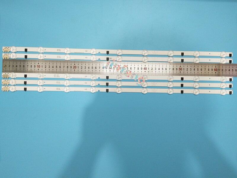 10pcs x 32 inch LED Backlight Lamp Strip for SamSung 32 TV UA32F4088AR 2013SVS32H D2GE 320SC0
