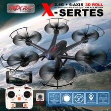MJX X600 FPV-системы Радиоуправляемый квадрокоптер 2.4 г 6 оси Drone headless режим можно добавить C4005 WI-FI Drone с Камера р/У вертолёты VS SYMA X5SW X5HW