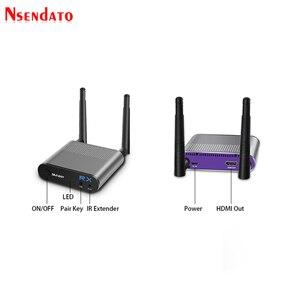 Image 3 - Measy Air Mini 200M/656FT 2,4 ГГц/5 ГГц Беспроводной Wi Fi HDMI аудио видео удлинитель передатчик приемник комплект с ИК выходом