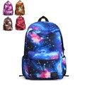 2016 new 3D galaxy printing backpack girls school bag ladies fashion cute student bag mochila feminina