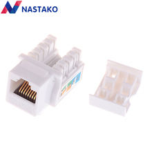 CAT6 Keystone Jack Cat 6 UTP network module RJ45 connector Information socket Computer Outlet cable Adapter Keystone FOR AMP цена