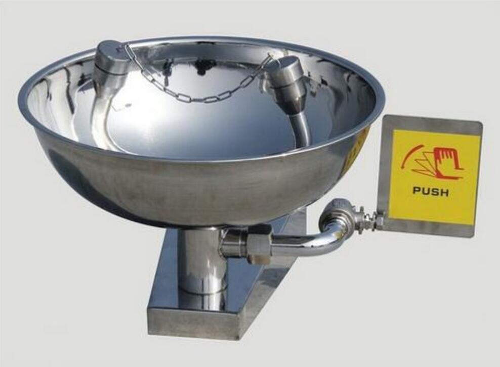 Emergency Shower Eye Washer Stainless Steel Eye Wash In