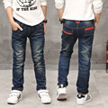 The New Year, The boy jeans, children wear fashionable style and high quality kids jeans, boys jeans, boy leather jeans