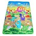 Baby Play Mat 180*120 cm de Una Sola Cara Impresa Niños Desarrollo Alfombra Estera para Los Niños Rompecabezas Colchoneta de Espuma Eva alfombras Bebé Juguetes
