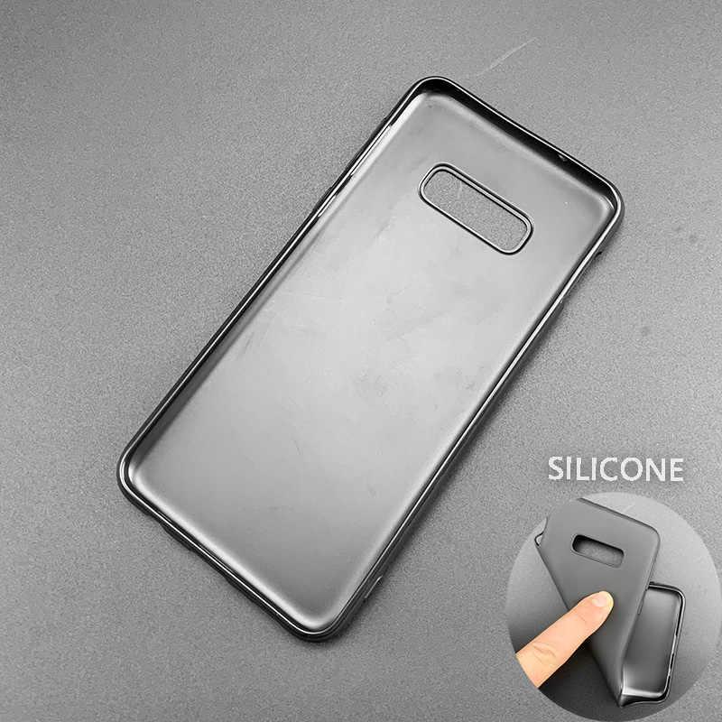Coque en silicone Coque pour Samsung Galaxy S8 S9 S10 Plus S10e 5G S6 S7 Edge S8 + S9 + S10 + Note 8 9 motif peau de serpent imprimé léopard