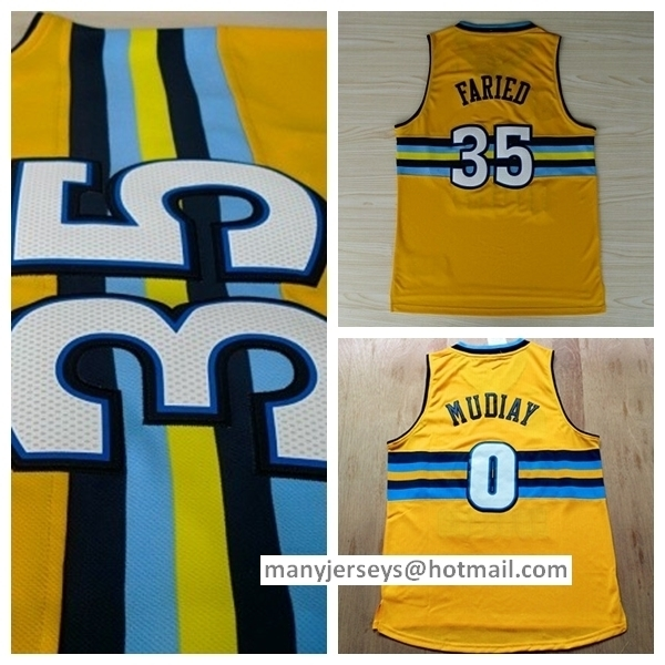 854fa7b21 ... Nevada University Embroidered Basketball Jersey Size XXS- Denver  Nuggets center JaVale McGee (34) prepares to ... 2016 throwback 0 emmanuel  mudiay ...