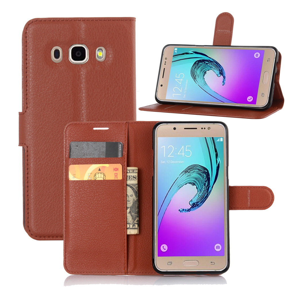 release date: fd1b4 d4e97 Book Style PU Leather Case Cover for Samsung Galaxy J510 J5 2016 Flip  Wallet Phone Bags Cases with Stand-in Flip Cases from Cellphones & ...