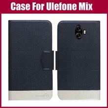 Лидер продаж! Ulefone Mix чехол Новое поступление 5 цветов модный флип ультратонкий кожаный защитный чехол для Ulefone Mix чехол