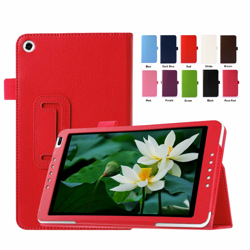 PU Leather Case For Huawei Mediapad M1 8.0 S8-301W/S8-301U/S8-301L 8 Inch Tablet Cover