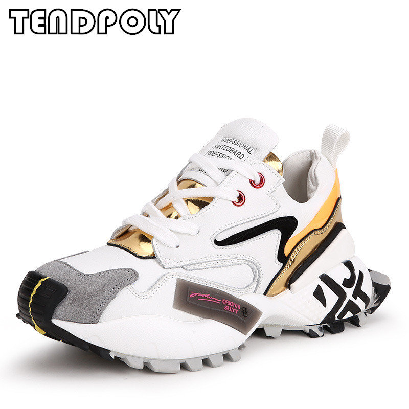 Women Shoes Sneakers Matching Thick-Bottom Comfortable Non-Slip Fashion New Casual Autumn