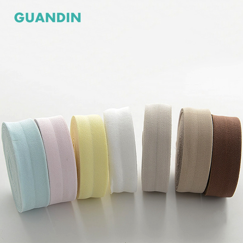 GUANDIN,Elastic Solid Color Cotton Fabric,Wrap Strip Edge Material of Cotton Binding,Baby Jumpers,Bodysuit,Sheets,1Yard/lot,2cm
