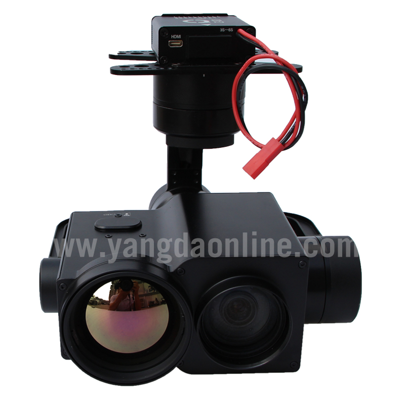Adler Auge 30ie 50mm Objektiv Uav Zoom Kamera 30x Eo Ir Dual Sensor Gimbal Für Drone Inspektion Überwachung Suchen Und Rettungs