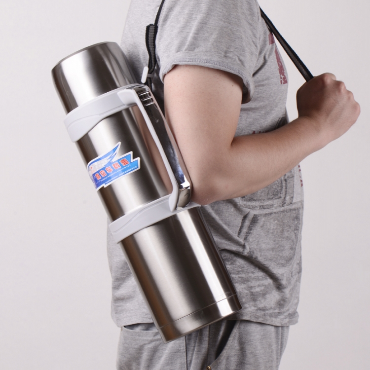Car 3L vacuum insulation pot large capacity outdoor travel thermos stainless steel travel mug stainless steel thermos with handle insulate bpa free thermal coffee mug for hot and cold drinks kids vacuum mug travel cup