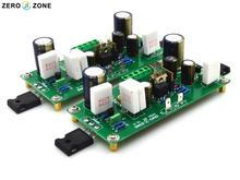 GZLOZONE One Pair PASS-AM V15 Class A 10W Power Amplifier Board Balanced Input