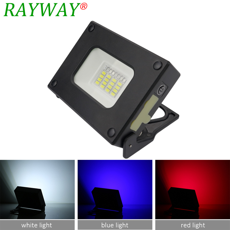 USB Portable <font><b>LED</b></font> Floodlight <font><b>10W</b></font> with SOS Built-in Rechargeable Lithium Batteries for Outdoor Camping Mini Power Bank Pocket <font><b>Lamp</b></font> image