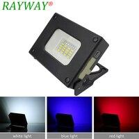 USB Tragbare LED Flutlicht 10 W mit PAS Eingebaute Lithium-Batterien für Outdoor Camping Mini Power Bank Tasche Lampe
