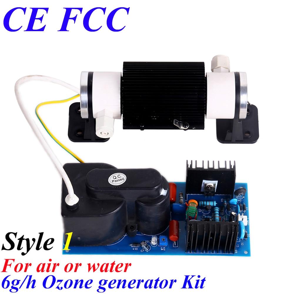 CE EMC LVD FCC 6g ozone ceramic tube kit ce emc lvd fcc air cooling ceramic tube ozone equippment