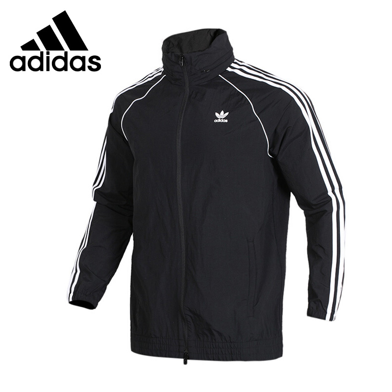 Original New Arrival 2018 Adidas Originals SST WINDBREAKER Men's jacket Sportswear original adidas originals women s jacket ab2096 sportswear free shipping