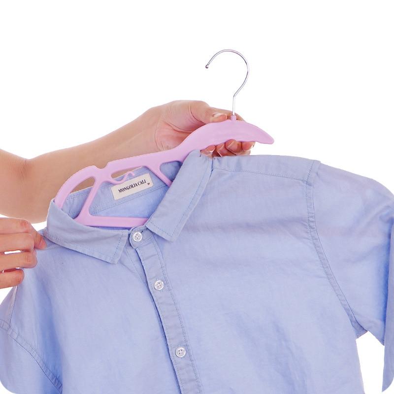 10pcs percha de plástico para sujetador, colgador de ropa interior y - Organización y almacenamiento en la casa