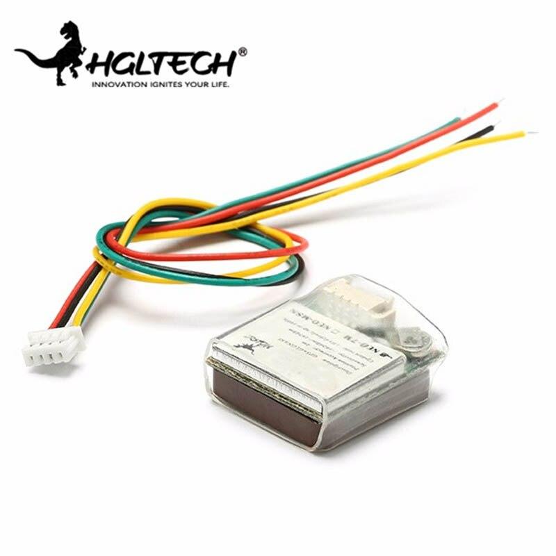 HGLRC 7 m/8 M M8N módulo GPS para APM Pixhawk CC3D Naze32 F3 controlador de Control de vuelo para RC cámara Drone accesorios Accs