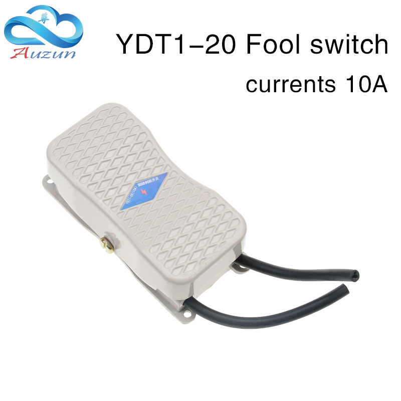 Treadle switch pedal power controller ydt1-20 pedal switch reverse switch with double head line.