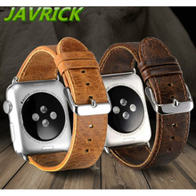 Banda de lujo Correa de Cuero Correa de Reloj Pulsera Para Apple Reloj iWatch 38/42mm