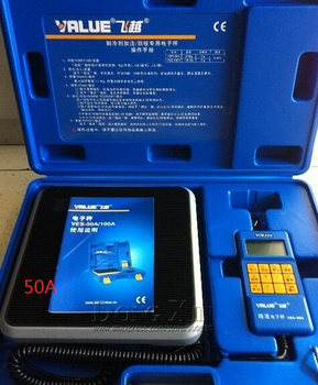 Refrigerate charging scale VES-50A electronic balance Precision Electronics Balance for refrigeration DHL free shipping 1 piece free shipping plastic enclosures for electronics instrument box electronic abs material 85 53 17 mm