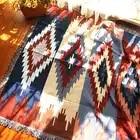 Puro algodão nostalgia Retro Tibet Étnica Arte tapete cobertor fino cobertor tampa de cama quarto sala Toalha de Mesa tapeçaria de Feltros - 1