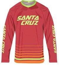 2016 Новый САНТА-КРУС MTB Downhill Джерси С Длинным рукавом Велосипед AM FR DH Мотоцикл Мотокросс Велоспорт Clothing Crossmax Рубашки Одежды