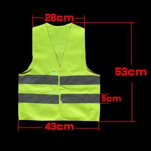 Image 2 - High Visibility Pupil Child Student Kids Reflective Traffic Vest Scooter Cycling Safety Vest Jacket Children Road Reflect Vests