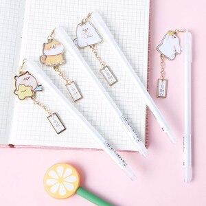 Image 3 - 24 sztuk/partia 0.5mm Shiba słodkie zwierzaki atrament do długopisu żelowego długopis upominek promocyjny papiernicze artykuły szkolne i biurowe