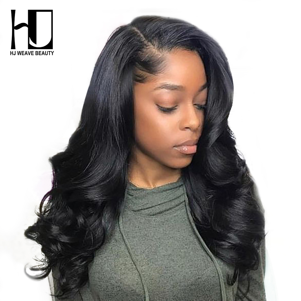 360 Lace Frontal Wig Brazilian Body Wave Pre Plucked Hairline With Baby Hair 13x6 Lace Front