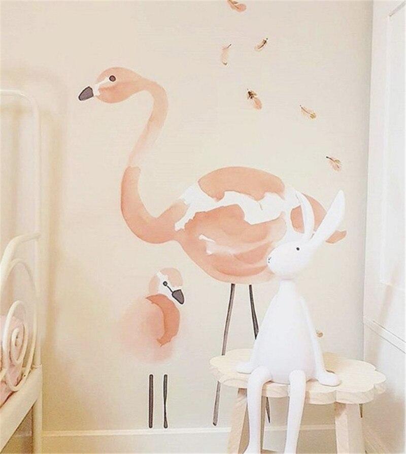 New Nordic Scandinavian Style Pink Wall