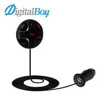 Digitalboy Car FM Transmitter Wireless Bluetooth Car Kit MP3 Player Car Modulator USB Charger Support TF