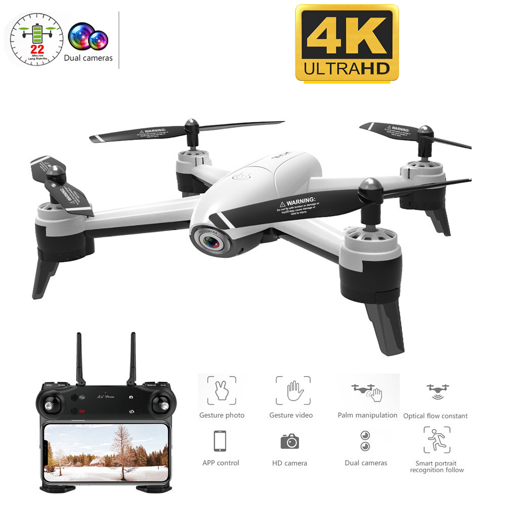 RC Drone Dual-Camera 1080P Quadcopter Profession Aerial-Video FPV Optical-Flow Wifi HD