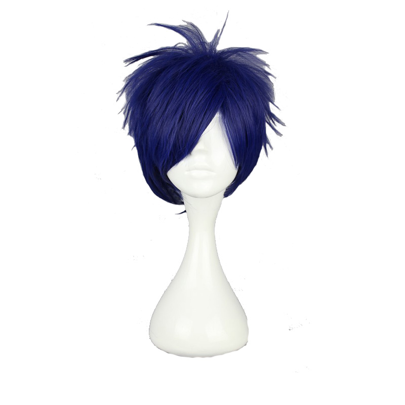 Best Top 10 Dark Blue Straight 1 Cm Wig Ideas And Get Free Shipping A408
