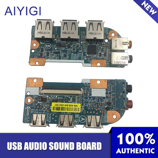 AIYIGI עבור Sony Vaio VPC EA EB VPCEA VPCEB VPC EA VPC EB IFX 565 IFX565 USB אודיו קול לוח Audio_USB DB M960