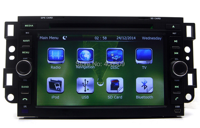"7"" Head Unit DVD Player for Chevrolet Captiva Lova Aveo Spark w/ GPS Navigation Radio Bluetooth FM USB SD AUX Stereo Video"